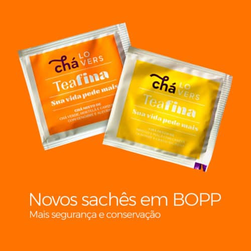 Sahcês de Teafina Chá Lovers Blend Natural